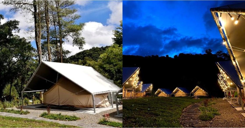 夜晚聽流水聲!基隆豪華露營地「拉波波村」開放預定