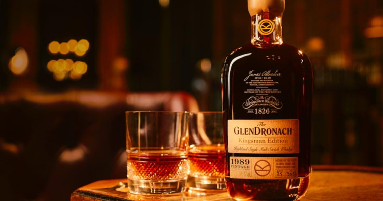 紀念金士曼,格蘭多納為《金牌特務》二度發行限定酒款