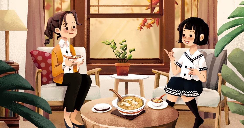 【秋天餐桌故事】大蒜雞湯:你的年少不再,但初心要永遠保溫