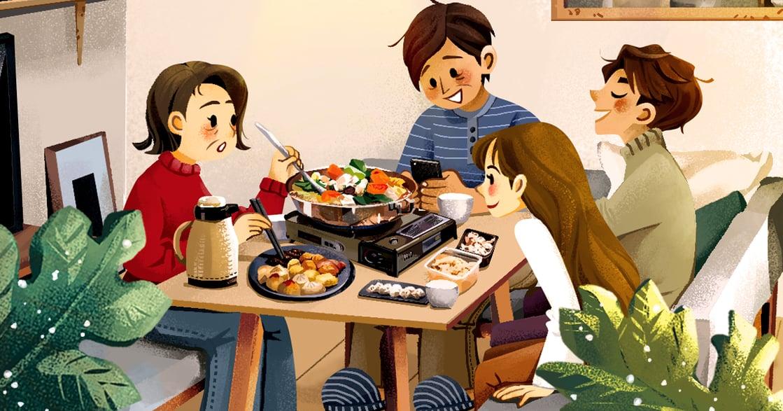 【冬天餐桌故事】家人不太親密?在餐桌找回彼此舒適的距離