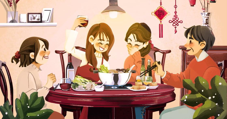 【冬天餐桌故事】除夕團圓火鍋:一年將結束,回家吃鍋吧