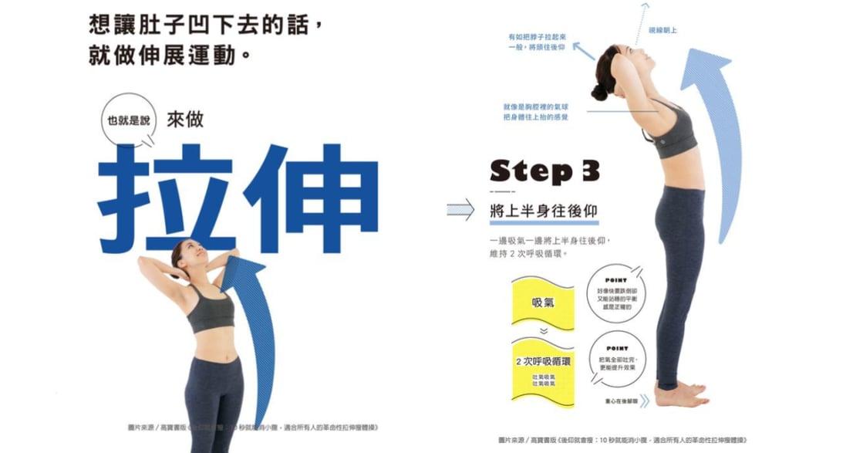 後仰就會瘦?每次 10 秒鐘,在哪也能做的腹肌訓練
