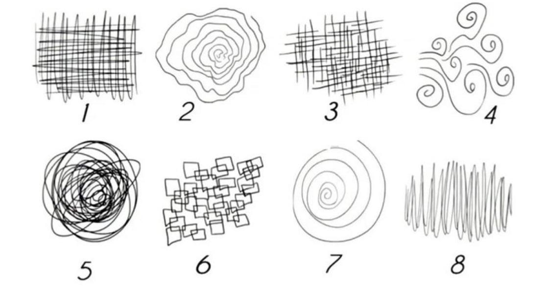 心理測驗|8 種隨筆塗鴉,透露現在的你,真正的壓力來源是什麼