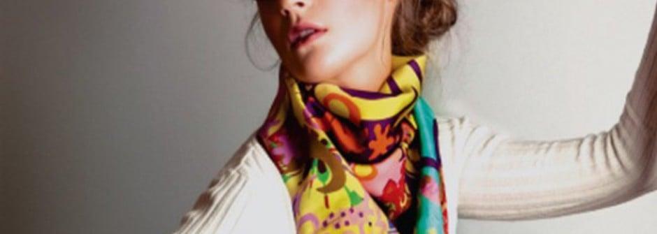 春天 FUN 絲巾!17 種超實用絲巾穿搭法(三立都會台介紹)