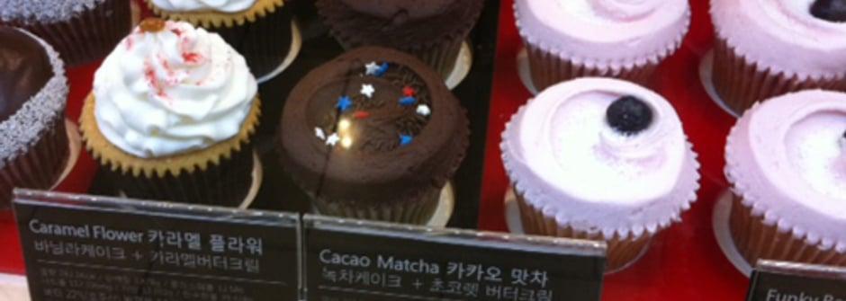 女人的療傷系甜點 cupcake