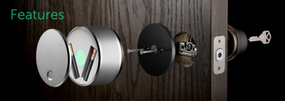 聰明又優雅的新型〝門鎖〞