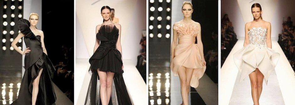 如花朵般綻放的優美高級訂製服 Fausto Sarli