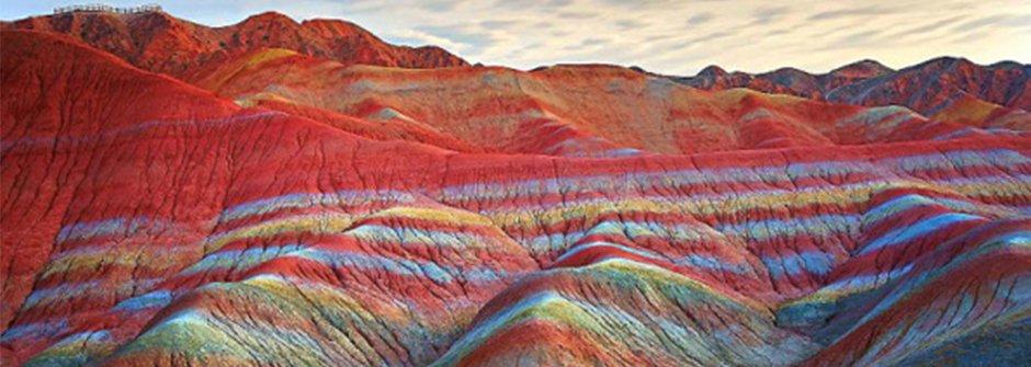 超不真實的彩虹山,就在中國丹霞地質公園
