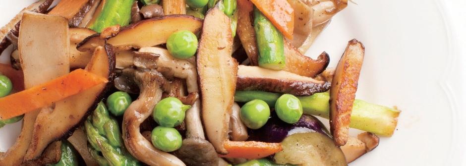 【鄭多蓮瘦身食譜】清除宿便的烤蔬菜香菇