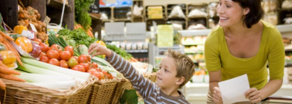 孩子的第一堂營養課:從上市場買菜開始