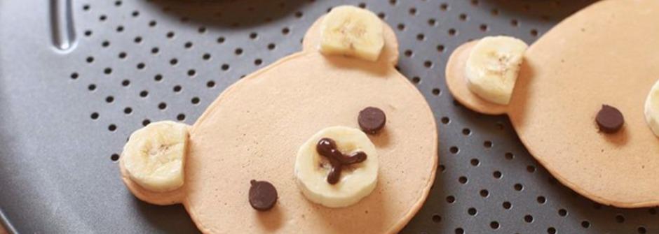 做甜點也能學英文!簡單五步驟做出可愛拉拉熊鬆餅