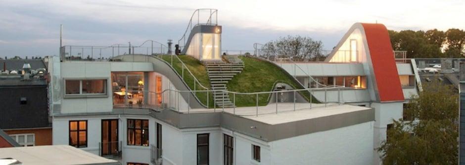 屋頂上的遊樂園