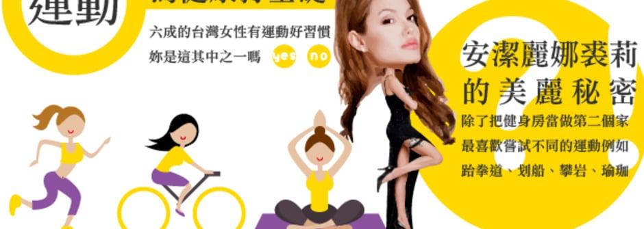 健康,是取悅自己最美好的禮物!台灣女人健康生活大調查