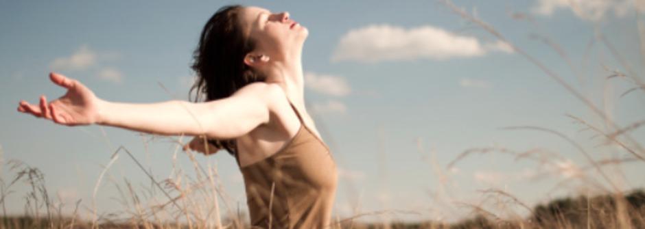 幸福,不是生活擔子變輕,而是妳終於開始「學會面對」