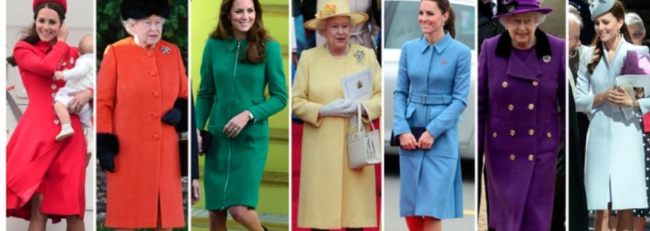 繽紛一下!凱特王妃的時尚穿搭
