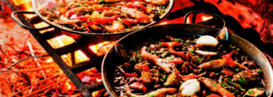 峭壁上的美景餐廳:西班牙弗拉達達海鮮飯