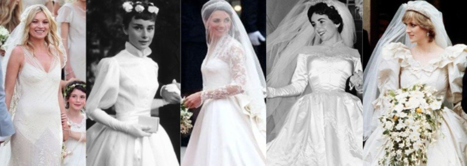 美到不想脫下來!全球10大最經典的婚紗禮服