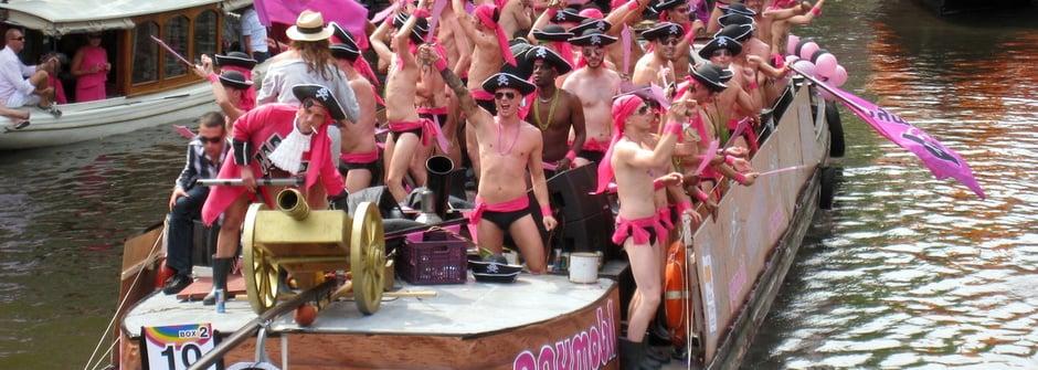 阿姆斯特丹 Gay pride 同志大遊行