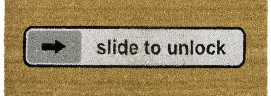 滑開我吧!Slide to Unlock