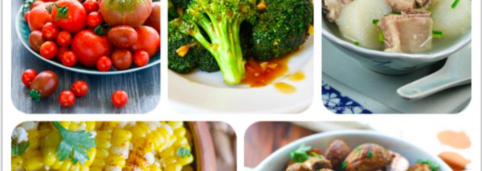 pantone 色票帶你看食物的塑身色彩學