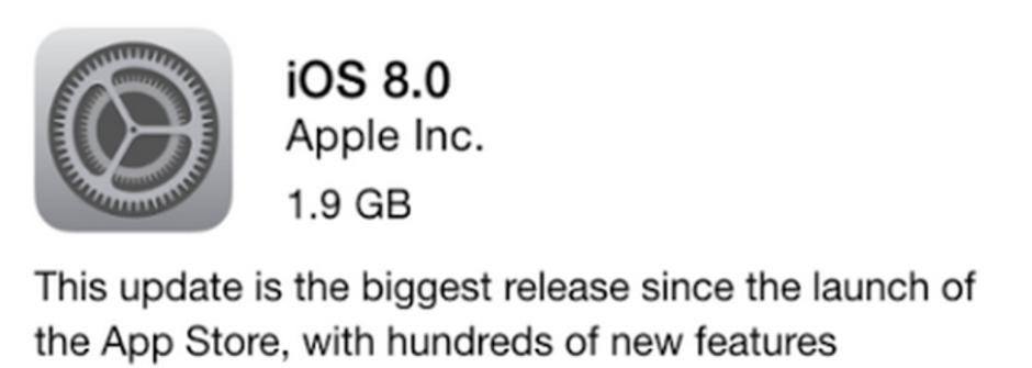 升級 iOS 8的強大與限制!下載前,你必須知道的5件事