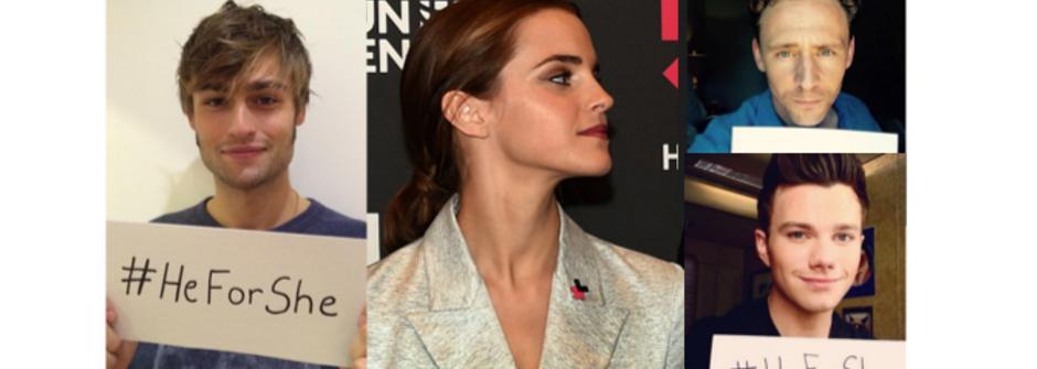 好萊塢眾男星力挺艾瑪華森!#HeForShe 讓男人做女人背後的溫柔支持