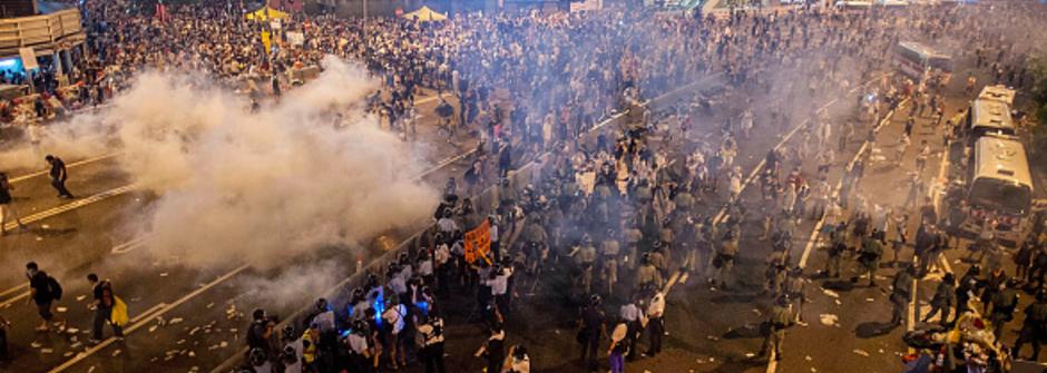 香港人不要假普選!和平佔中運動寫下歷史一頁 #occupycentral