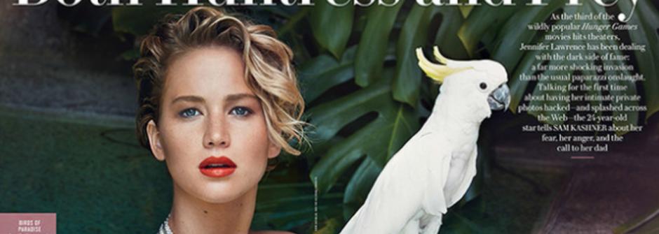 「這不是醜聞,而是性犯罪」Jennifer Lawrence 性感亮相,首度公開談裸照風波