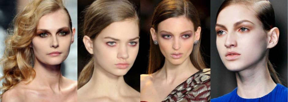 從伸展檯看秋冬彩妝趨勢:輕煙燻妝正紅