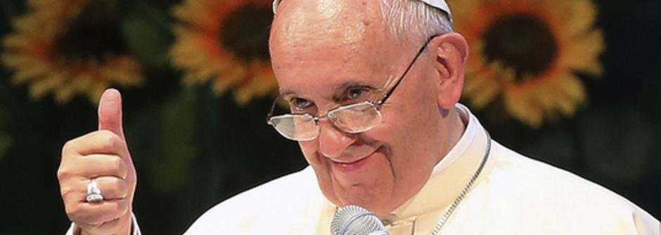 「神不怕新事物!」教宗方劑各力挺同志愛