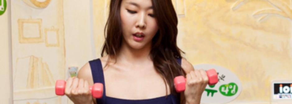 每天做一百個深蹲!韓國超模維持好身材的秘密