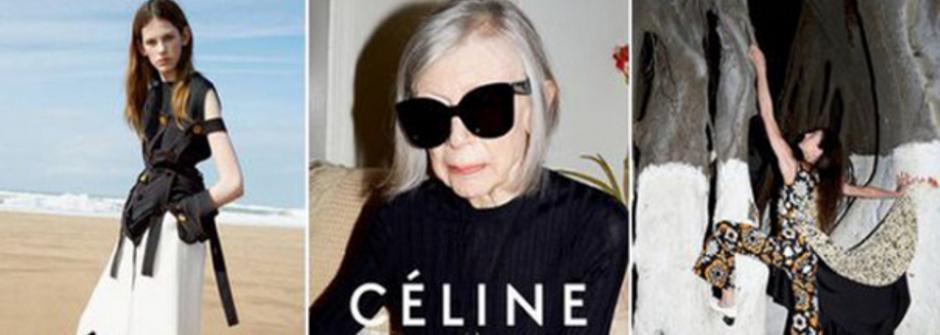 Céline 選用 80歲的女權作家 Joan Didion!2015 年,四個讓人眼睛一亮的春夏廣告