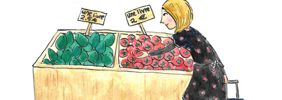 買菜、上街、打招呼:與法國人打交道的生活法文