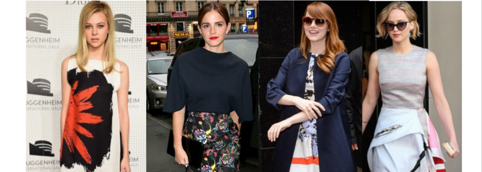 【時尚點評】好萊塢名人也偏心!透視 Christian Dior 2015 早春系列