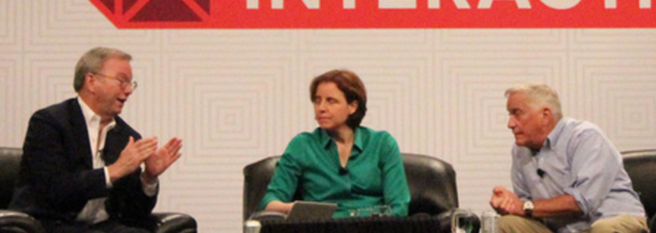 Google 執行長艾立克·史密特,被自家員工打臉:為什麼一直打斷女人說話?