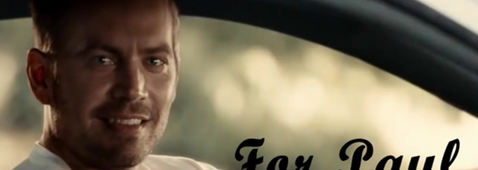 《玩命關頭7》最催淚的主題曲:保羅沃克,我們何時能再次見面?