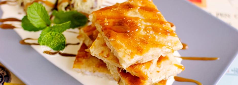 美味料理食譜:簡單就有好心情!脆皮焦糖香蕉煎餅
