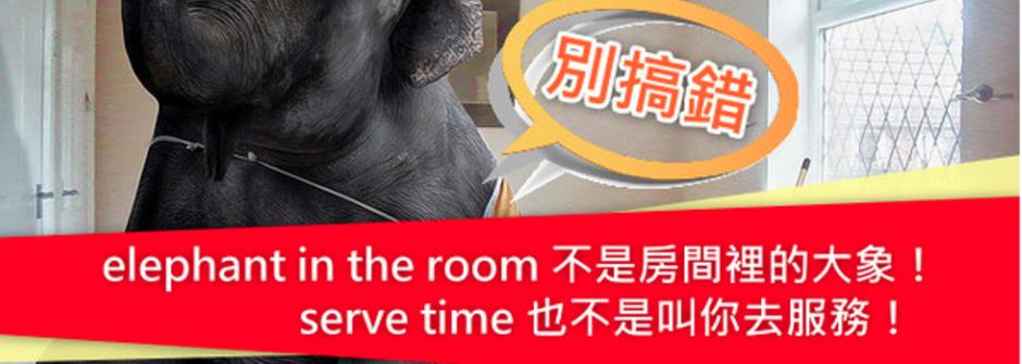 CNN 教你四個日常英文片語!「elephant in the room 」不是大象在房間裡
