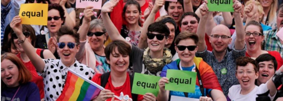 五分鐘洞見世界:敬相愛!愛爾蘭同志法案公投過關