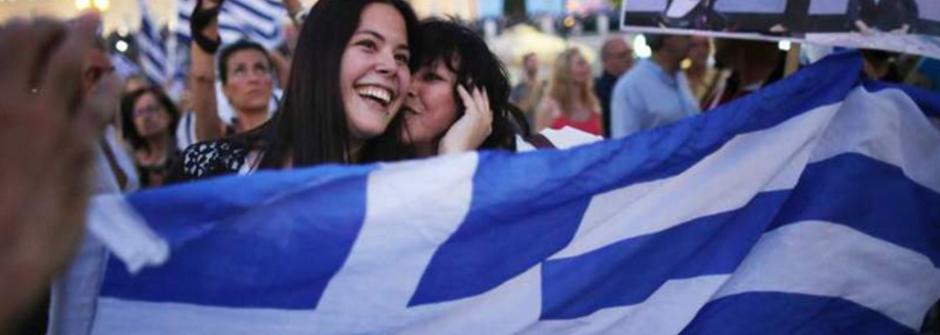 【國際頭版學英文】五分鐘看懂!希臘公投向紓困案說 No