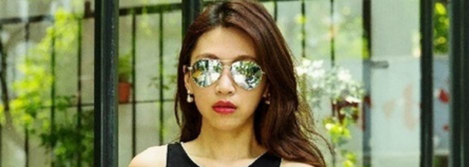 藍儂墨鏡、鍍面墨鏡怎麼戴?夏日的太陽眼鏡穿搭指南