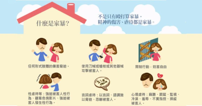 十張卡帶你治癒台灣家暴傷痕