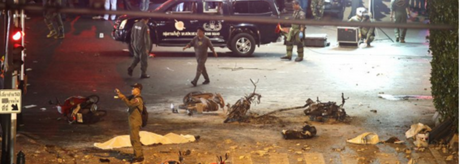 泰國市中心最嚴重爆炸案:血庫告急、百位傷亡