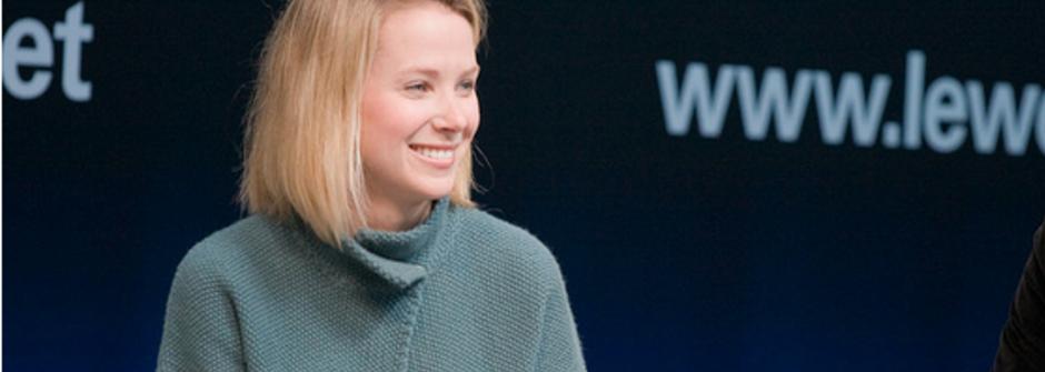 Yahoo 執行長的產假爭議:沒有典範,我們就為自己創造一個