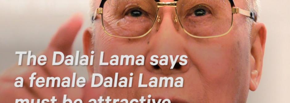 達賴喇嘛訪英的性別失言:「如果達賴喇嘛轉世成女性,她一定要長得好看」