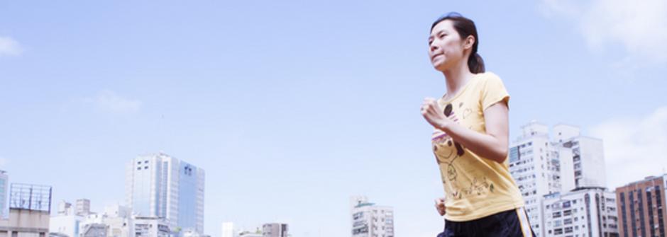 職場媽媽的育兒術:「用運動教孩子堅持的重要」