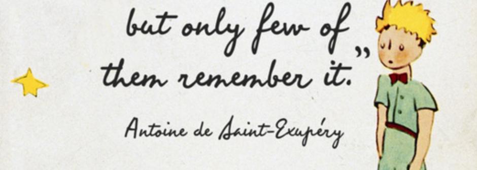 《小王子》給世界的處方籤:「問題不在於長大,在於遺忘」