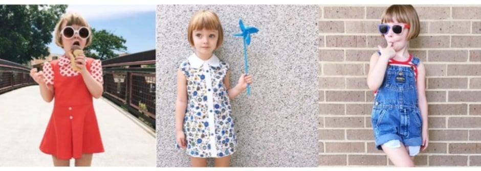 從小就時尚!兒童版 It Girl 比超模更吸睛