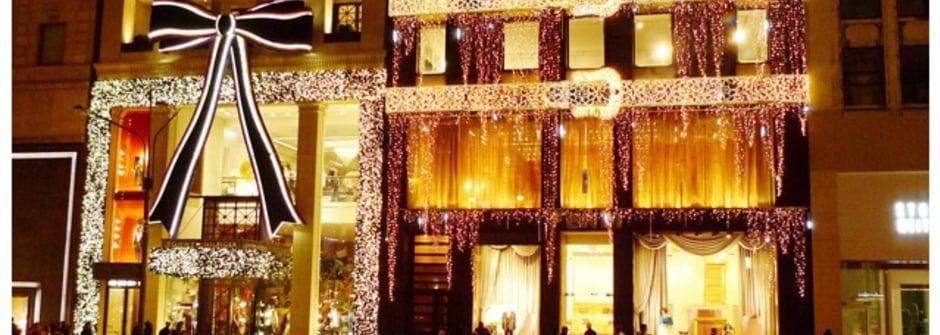 直擊紐約第五大道聖誕櫥窗秀:名牌篇