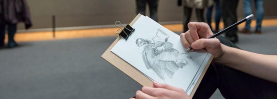 眼睛看到的風景最高清!荷蘭博物館提倡畫畫代替拍照